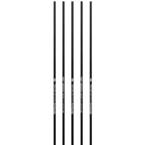 6 x Penthalon Slimline Black Shafts